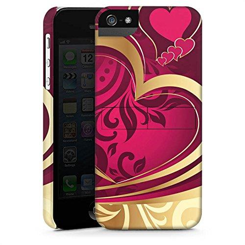Apple iPhone X Silikon Hülle Case Schutzhülle Liebe Herz Love Premium Case StandUp