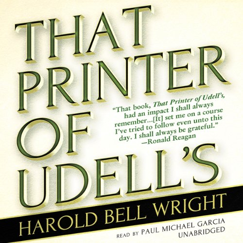 That Printer of Udell's  Audiolibri