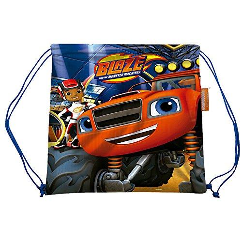 Blaze e il sacchetto di scuola macchine mc-03-bz mostro