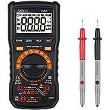 Tacklife Classique DM05 Multimètre /6000 Comptes True RMS /Gamme Automatique et Manuelle Commutable /Mesure relative /Mesurer Tension AC / DC ,Courant ,Capacité ,Fréquence ,Transistors ,Diodes