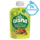 For Aisha Vegetable Tomato And Chickpea Curry Pouch 130G