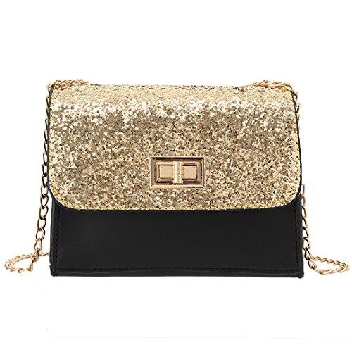 Novias Boutique, Poschette giorno donna dorato Golden taglia unica Golden