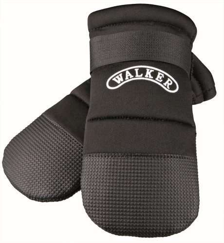 Trixie Walker Care Protective Boots, Medium, Black by Trixie