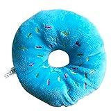 Pet Chew Spielzeug für Haustiere Squeak Plüschtier Donuts Donuts Cat Stimme Plüsch Hund beißt die Formation Molar Ton Sauber Squeak Spielzeug blau