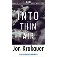 Into Thin Air by Jon Krakauer (1998-04-06)