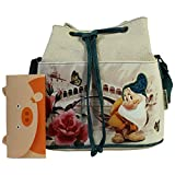 Disney Mammolo River Borsa Bucket a Secchiello da Donna con Tracolla - Disney - amazon.it