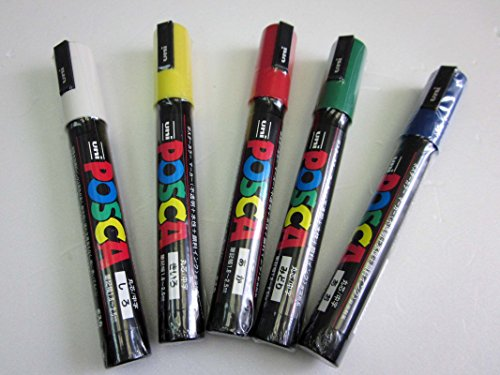 Easipet Queen Bee Marker Pen Set for Beekeeping, Set of 5 pens 2
