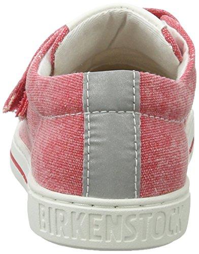 Birkenstock Arran Velcro, Basses Mixte Enfant (Carmine)