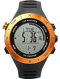[Lad Weather] sensore tedesco cardiofrequenzimetro cronografo Distance/velocità/passi calorie multifunzionale orologio