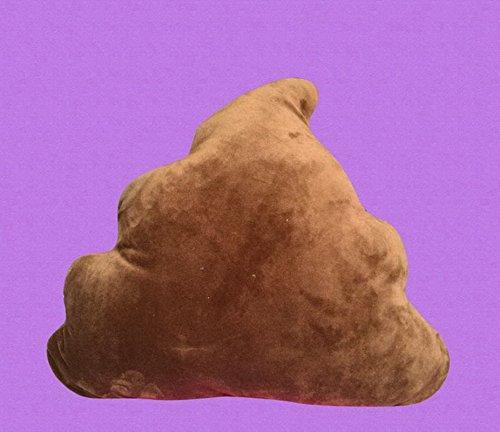Bigood Oreiller Poupée en Forme Poo Bureeau Doux Moelleux Coussin pour chambre voiture Cool Courroucé