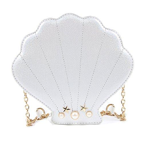 EVEOUT Monederos en Forma de Conejito Láser Para Niñas, Monederos con Bandolera Vogue Mini Bolso Para Mujer Vacaciones