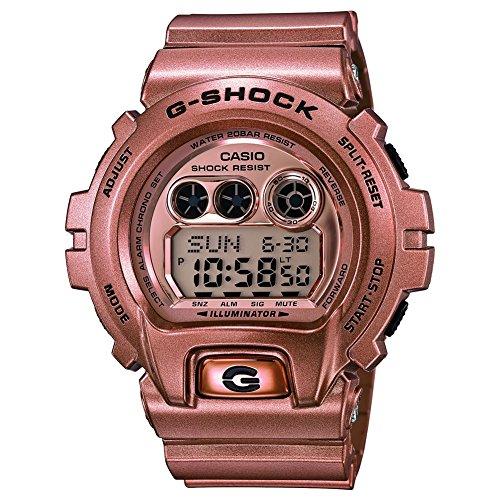 Casio - GD-X6900GD-9ER - Montre Mixte - Quartz - Digitale - Bracelet Résine doré