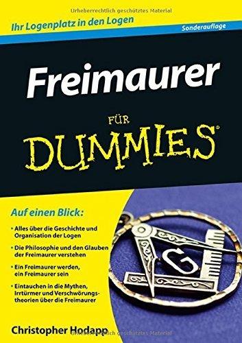 Freimaurer für Dummies (Fur Dummies) von Christopher Hodapp (10. Dezember 2014) Taschenbuch Freimaurer Für Dummies
