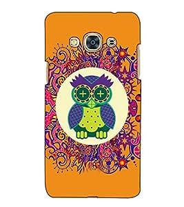Fuson Designer Back Case Cover for Samsung Galaxy J3 Pro :: Samsung Galaxy J3 (2017) (An owl theme)