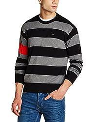 Lee Mens Cotton Sweater (8907649224472_L29020CB0M18XXL_Jsw-Grey Mel)