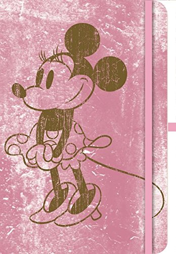 Teneues Minnie Mouse Retro - Cuaderno - Green Journal Small Mickey - Retro