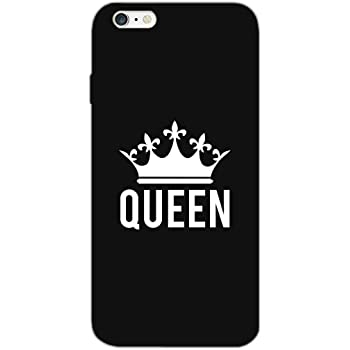 MADANYU I Feel Like The Queen Quote Designer Printed Hard Back Shell Case For Apple iPhone 6S Plus / Apple iPhone 6 Plus