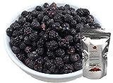TALI Schwarze Beeren Mix 150 g - Gefriergetrocknete Früchte (Brombeeren, Heidelbeeren, Schwarze Johannisbeeren)