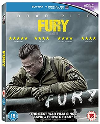 Fury [Blu-ray] [2014] [Region Free]
