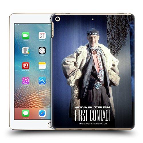 Head Case Designs Offizielle Star Trek Volles Kostüm Zefram Cochrane Der Erste Kontakt TNG Ruckseite Hülle für iPad 9.7 2017 / iPad 9.7 ()
