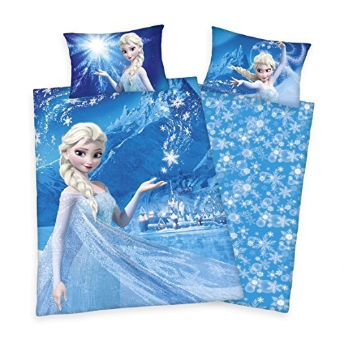 Eiskönigin Bettwäsche FLANELL Disney Frozen Anna Kristoff 135 x 200 cm NEU WOW - All-In-One-Outlet-24 - (Flanell Disney Bettwäsche)