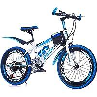 LETFF Bicicleta Plegable para Adultos Bicicleta Plegable para Estudiantes de Bicicleta de montaña de 22 Pulgadas