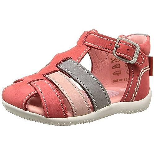 Kickers Bigfly Chaussures Bébé Marche Bébé Fille Blanc 23 EU 425 EU ... 54a6ce8597e