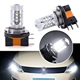 H15 DRL Fog Light LED Bulbs High Low Beam Canbus Error...