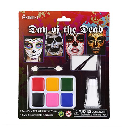 e Up Kit Halloween Schminke mit 12 Farbe (Halloween-vine-make-up)
