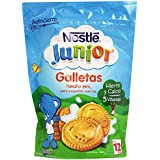 Nestlé Junior - Galletas 5 Vitaminas con Hierro y Calcio - 6 Paquetes de 180 g