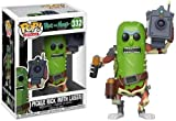 Funko- Pop Vinile Rick & Morty Pickle Rick w/Laser Action Figure, 9 cm, 27862