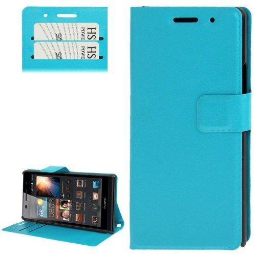 Handyhülle für Handy Huawei Ascend P6 türkis