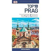 Top 10 Reiseführer Prag: mit Extrakarte und kulinarischem Sprachführer zum Herausnehmen