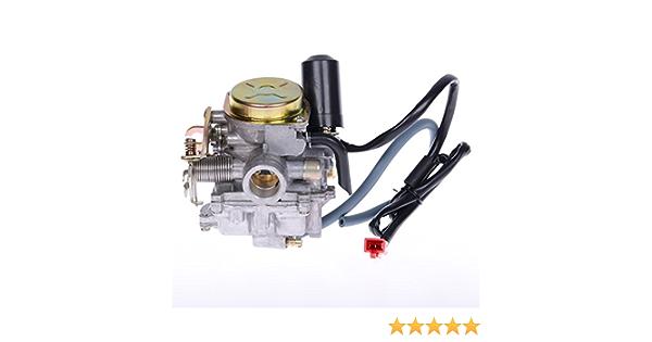 Vergaser Metalldeckel Mit Beschleunigerpumpe V Clic 50 Gz40 08 13 Auto