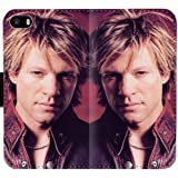Bon Jovi 60GM1 funda Iphone 5 5s 5se Leather Wallet Cell Phone Case funda W548D Flip Case funda Covers Protective