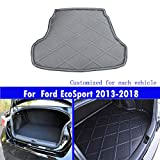 Le nouveau noir mat tapis de coffre de voiture de queue de tapis de coffre Pour...