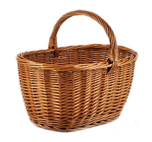 Mimbre cesta mimbre tradicional compras Durable resistente