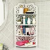 Ecke Etage Waschmaschine Badezimmer Regale Bad Handtuchhalter Handtuch Rack Dreieck mehrschichtigen WC Bad Lagerung