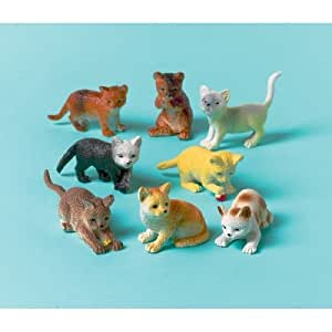 Amscan International Favour Cats, Pack of 12