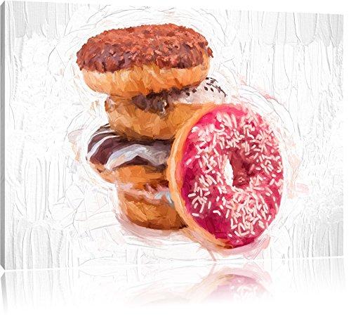 doux-donuts-effet-pinceau-format-120x80-sur-toile-xxl-enormes-photos-completement-encadrees-avec-civ