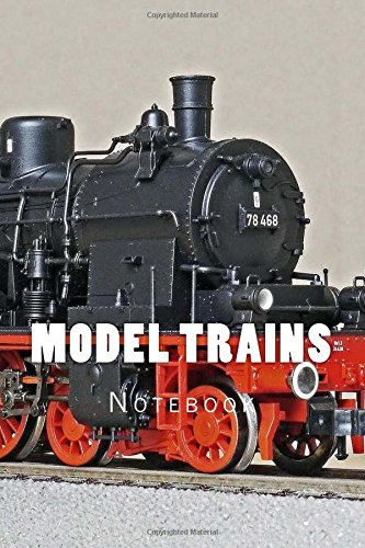 Model Trains: Notebook 150 Lined Pages por Wild Pages Press