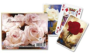 Piatnik 2288 - Baraja de cartas, diseño de rosas Importado de Alemania