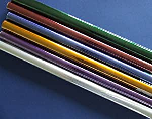 6 Rolls Assorted Coloured Cellophane by CRAFTY CAPERS