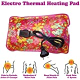 MCP Electric Heat Bag Hot Gel Massager For Winter Aches Reliever Rectangle Shaped (Brown)
