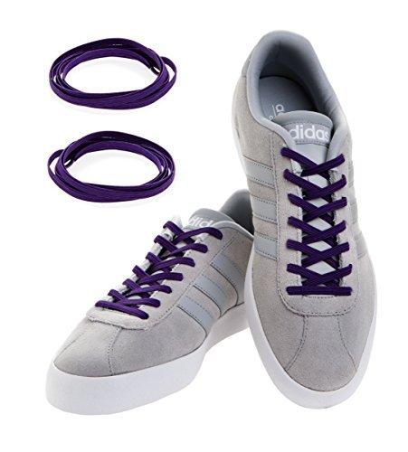 Elastisch Rund Schuhbändel Trendy Sneakers Quick Verriegelung Schnürsenkel