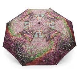 Taschen-Regenschirm CLAUDE MONET SOMMERGARTEN