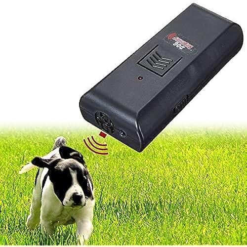 regalos tus mascotas mas kawaii EsportsMJJ Ultrasónico Mascota Perro Ahuyentador De Ladridos Entrenar Entrenador De Perros