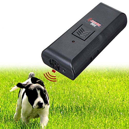 EsportsMJJ Ultraschall Hund Repeller Stop Bellen Zug Training Dog Trainer