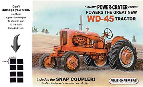 Shop72 Farmall, AGCO Corporation Traktoren Blechschild Retro Vintage distrssed One Size Snap (Retro Snap Vintage)