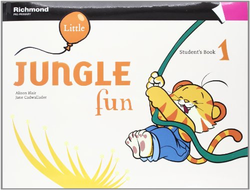 LITTLE JUNGLE FUN 1 STUDENT'S PACK - 9788466815826